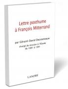 Lettre posthume à François Mitterrand